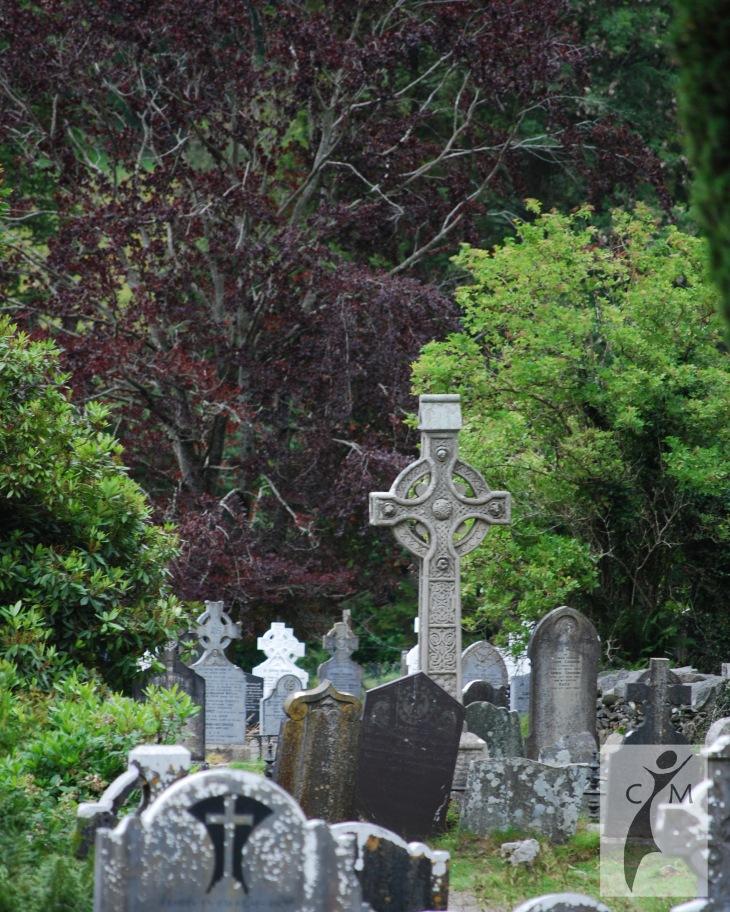 Graveyard Glendalough Ireland