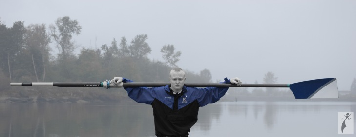 male senior picture rower