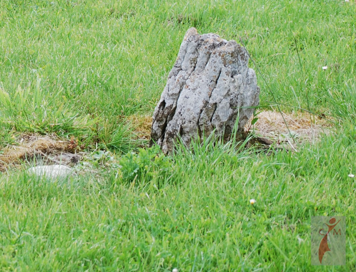 grave marker from famine in Annagh Ireland