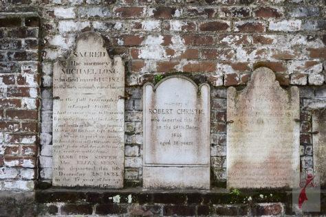 Colonial Cemetery Savannah GA