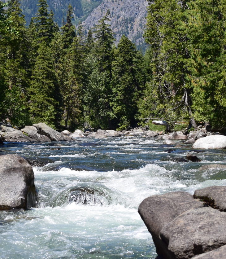 Icicle River Leavenworth Washington